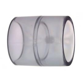 Socket transparent PVC-U