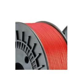 Filo PLA d 1,75 mm (0,75 Kg) Rosso
