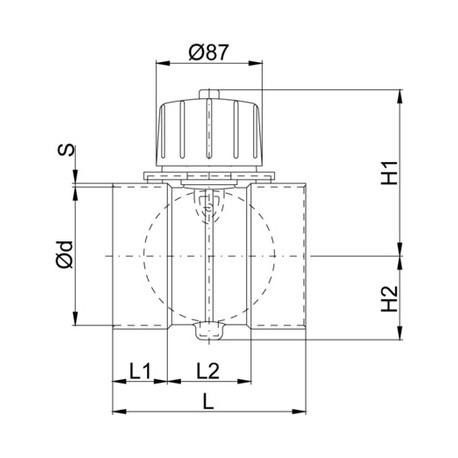 Serranda ventilazione PPs-El