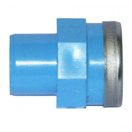 Adattatore PVC M/Filetto F per aria compressa