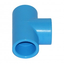 90° tee PVC for compressed air