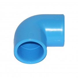 90° elbow PVC for compressed air