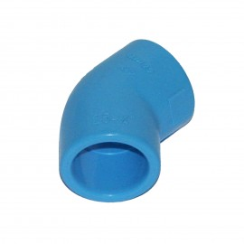 45° Elbow PVC for compressed air