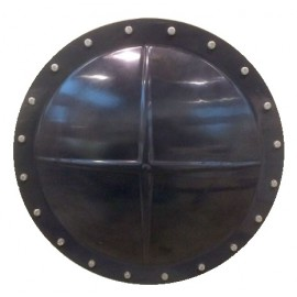 Porthole PVC grey