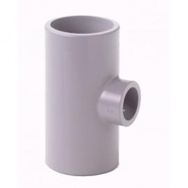 Tee 90° reducing PVC-C