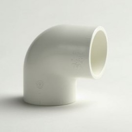 Elbow 90° PVC-U white color