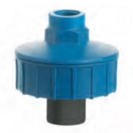 Diaphragm pressure gauge guard PVC