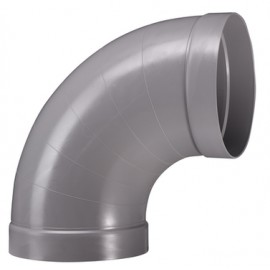 Bend 90° ventilaion PPs d 125 mm