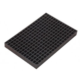 Closed Grating in Polimer 800 x 505 x 60 mm