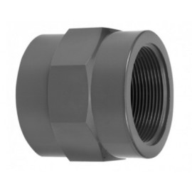 Thread socket F/F PVC-U 3.26