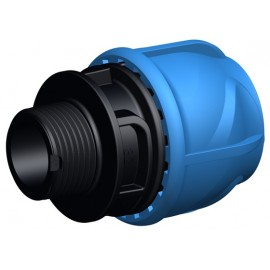 Male adaptor d 32 mm x 3/4""