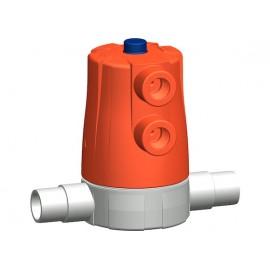 Diaphragm pneumatic valve 605 +GF+