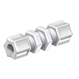 BULKHEAD UNION PP 1/4 (6,3 mm)