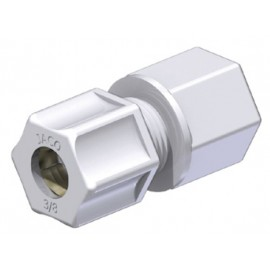 "FEMALE CONNECTOR PP 3/8"" (9,5/10,0 mm) x 1/2"" NPT"