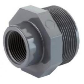 Reducing adaptor PVC-U