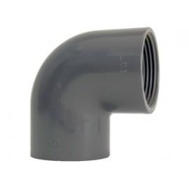 Elbow 90° PVC-U thread