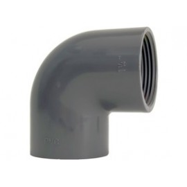 Elbow 90° PVC-U thread