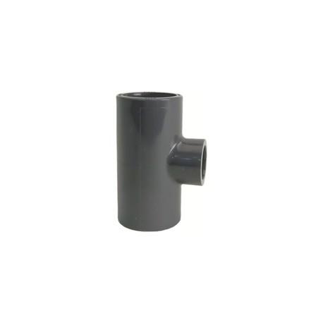Tee 90° reducing PVC-U