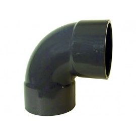Short bend 90° PVC-U