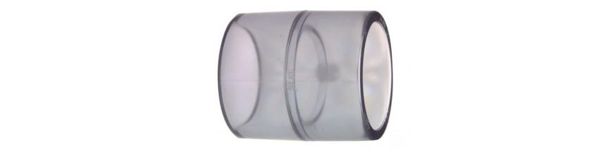 Raccordo a T in PVC 90/° 3 manicotti femmina a incollaggio