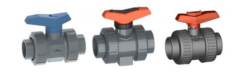 Ball valves PVC-U