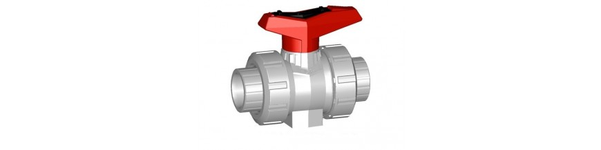 Ball valves PVC-C