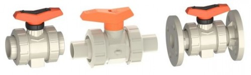 Ball valves PP