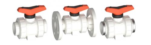 Ball valves PVDF