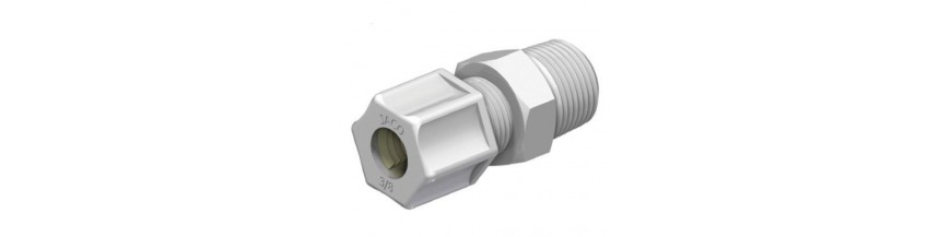 Male connectors PP (10)