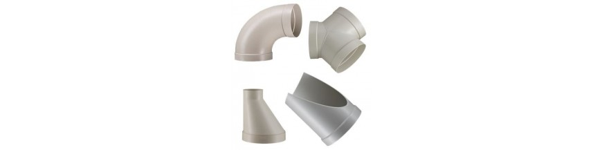 Ventil. fittings PP