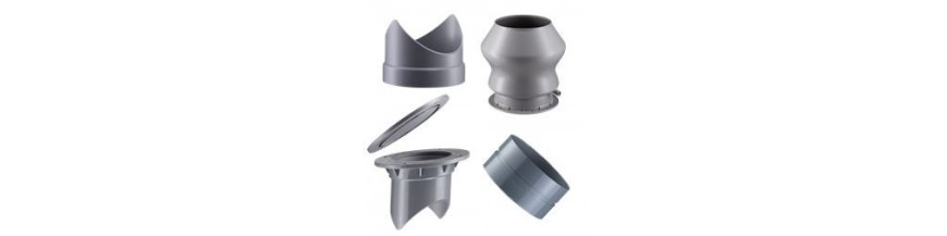 Ventil. fittings PE
