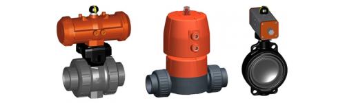 Automatic valves