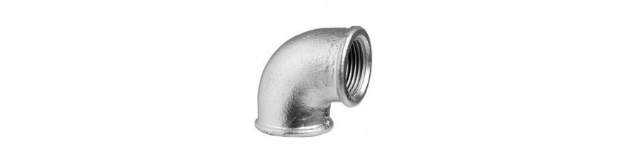 Elbows 90° galvanized ECO (90)