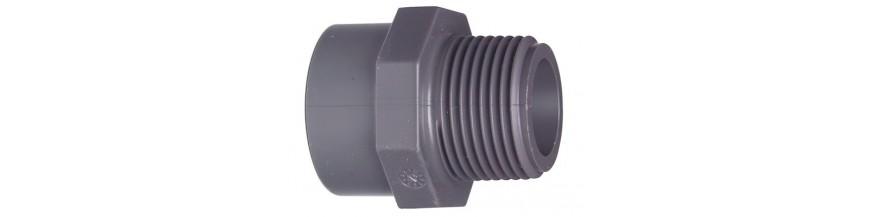 Adaptor fittings PVC +GF+