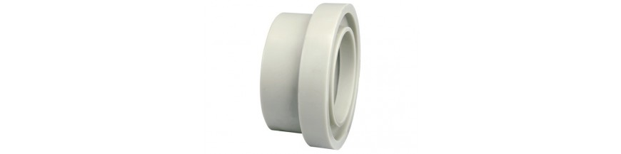 Flange adaptors with O-Ring groove