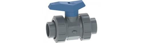542 Blue lever PVC-U/EPDM +GF+ Socket solvent cement