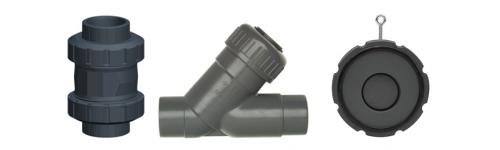 Check valves PVC-U