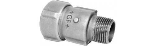Male adaptor Steel-Thread (NBR)