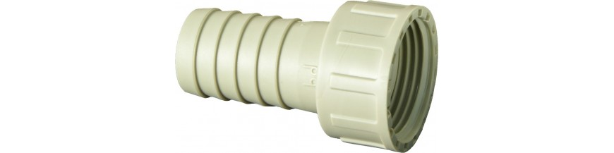 Hose connectors with ring